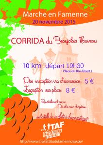 Flyer corrida 2015