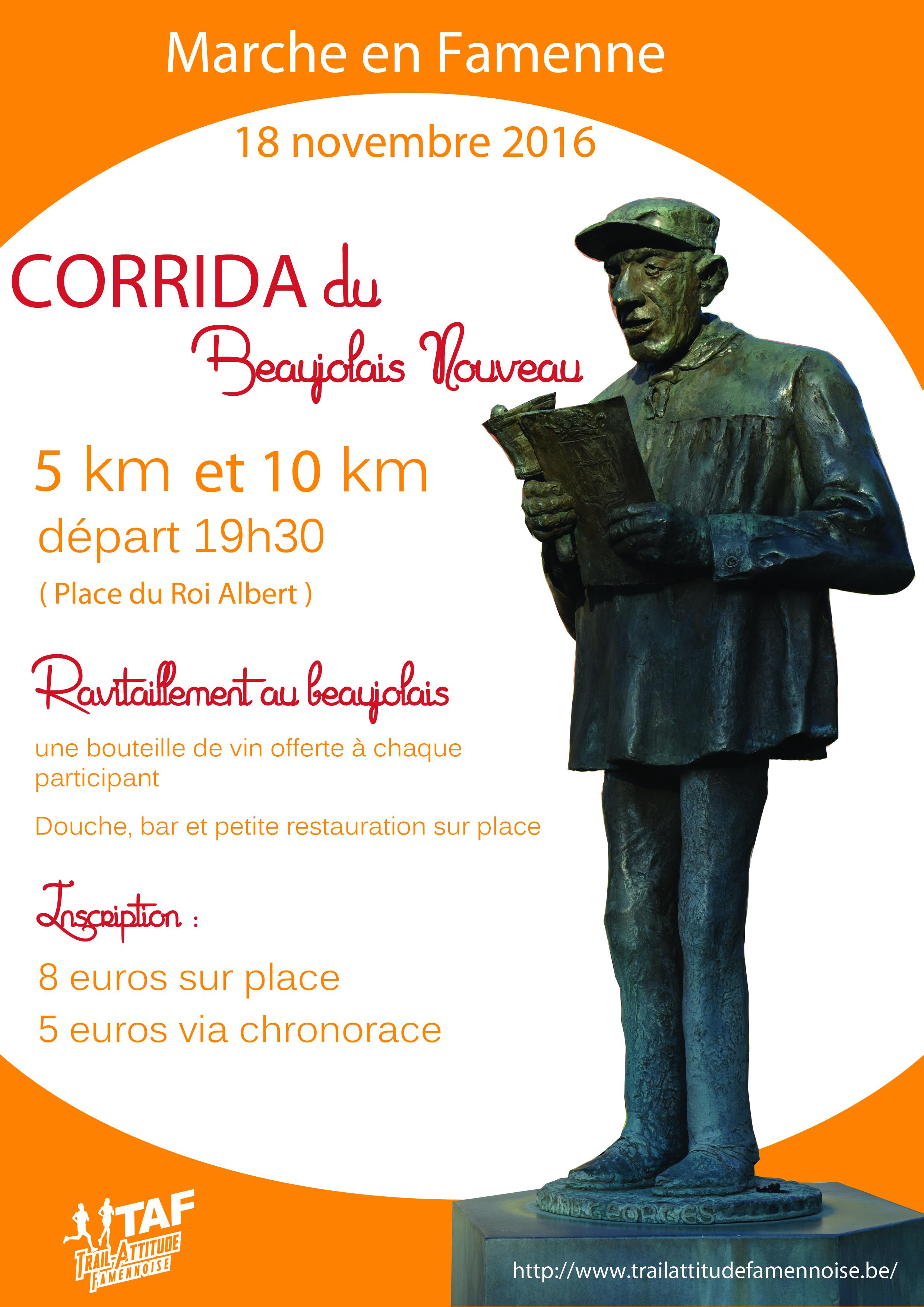 """Résultat de recherche d'images pour """"corrida du beaujolais nouveau"""""""
